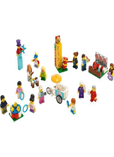 Lego LEGO City İnsan Paketi Lunapark Renkli